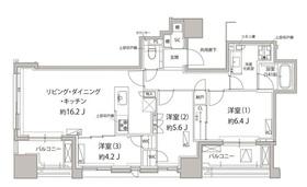 クラッシィハウス神田美土代町14階Fの間取り画像