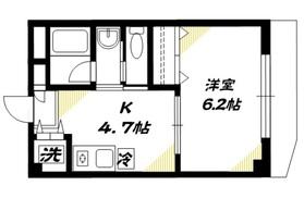 ニューシャトゥ高輪2階Fの間取り画像