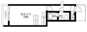 グラスウォール3階Fの間取り画像