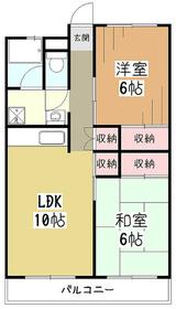 サニーライフ久米川5階Fの間取り画像