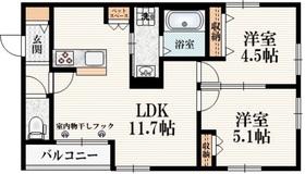 田無駅 徒歩15分2階Fの間取り画像