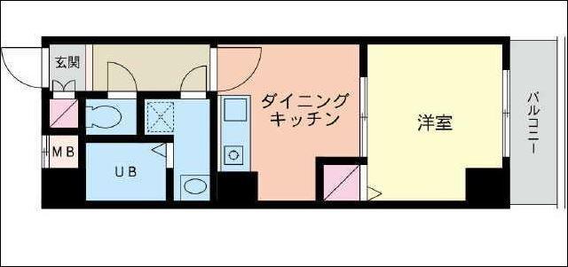 吉野町駅 徒歩2分間取図