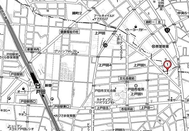 ファーストマンション案内図