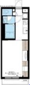 リブリ・TOMOKAZU1階Fの間取り画像
