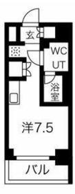 クラリッサ横浜フロード4階Fの間取り画像