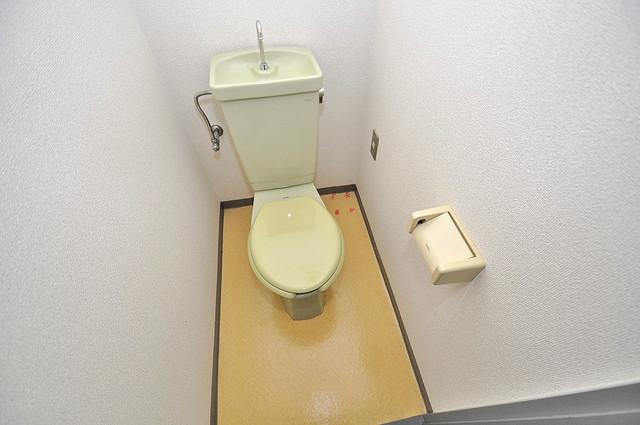 ダイヤモンドメゾン高井田 清潔感のある爽やかなトイレ。誰もがリラックスできる空間です。