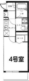リーヴェルプレミオ横濱岸根2階Fの間取り画像