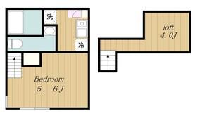 町田駅 徒歩15分地下2階Fの間取り画像