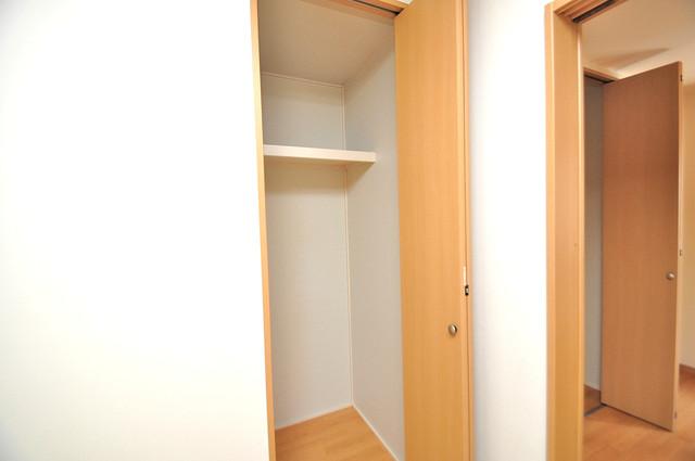 ソレジオ武村V S もちろん収納スペースも確保。おかげでお部屋の中がスッキリ。