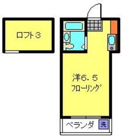 フォルム井土ヶ谷A棟1階Fの間取り画像