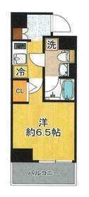 SHOKEN Residence 新丸子2階Fの間取り画像