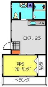 ガーデンヒルⅡ(仮)2階Fの間取り画像