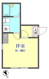 Southern Flat 101号室