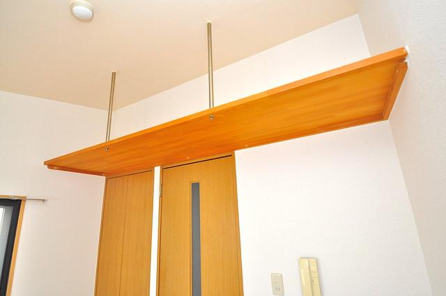 ロンモンターニュ小阪 各所に収納があるので、お部屋がすっきり片付きますね。