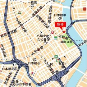 プレミスト日本橋浜町公園案内図