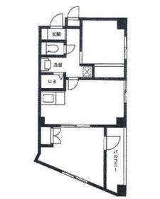 ベルウッドⅡ4階Fの間取り画像