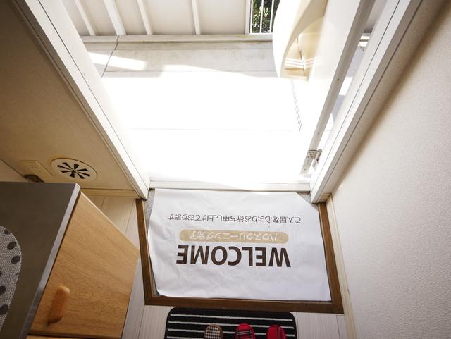 サンファミールSY玄関