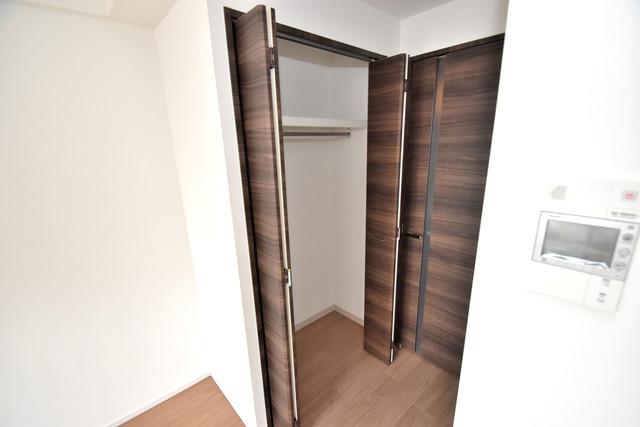 スプランディッド荒本駅前 もちろん収納スペースも確保。おかげでお部屋の中がスッキリ。