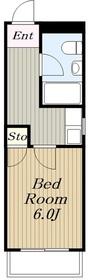 桜ヶ丘ハイム2階Fの間取り画像