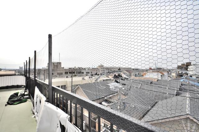 第2シャトー新町 バルコニーは眺めが良く、風通しも良い。癒される空間ですね。