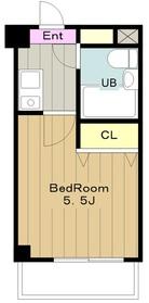 クリオ三ツ境壱番館4階Fの間取り画像