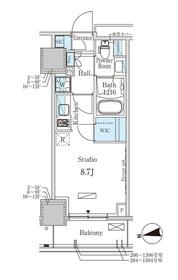 パークアクシス赤塚4階Fの間取り画像