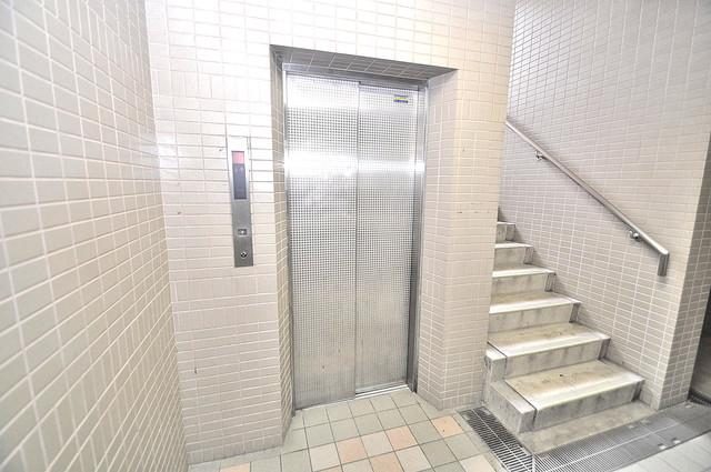 オルゴグラート長田 嬉しい事にエレベーターがあります。重い荷物を持っていても安心