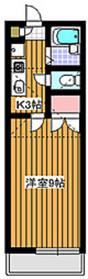 成増駅 徒歩7分1階Fの間取り画像