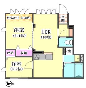 (仮称)西蒲田4丁目新築アパートE棟 102号室