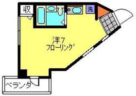 新丸子駅 徒歩3分4階Fの間取り画像