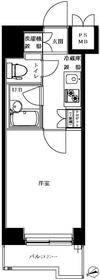 ルーブル北新宿4階Fの間取り画像