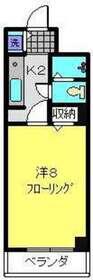 パークアヴェニュー3階Fの間取り画像