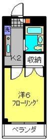 シャトール田口片倉1階Fの間取り画像
