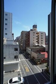 4階からの景色。南向きです。