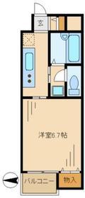 アーバンライフ永山2階Fの間取り画像