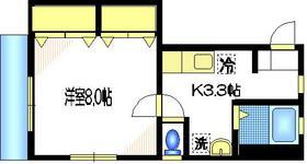 グラチエスヴィント2階Fの間取り画像