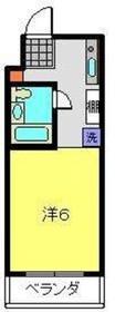 三ッ沢上町駅 徒歩1分3階Fの間取り画像