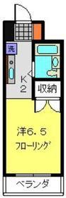 パレクレール2階Fの間取り画像