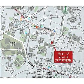 グローブプレイス六本木永坂案内図