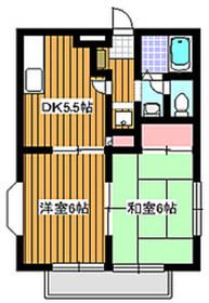 和光市駅 徒歩16分1階Fの間取り画像