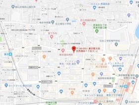 スカイコート蒲田駅前案内図