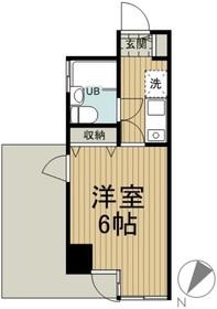 MAC平山城址公園コート3階Fの間取り画像