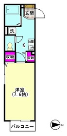 モンテローザ千鳥 203号室