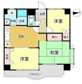 マキシムIK82階Fの間取り画像