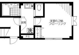 コーポヒロ3階Fの間取り画像