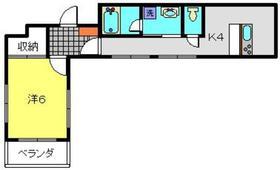 ヨコハマベイサカス3階Fの間取り画像