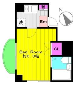 サンシティ寺尾台第22階Fの間取り画像