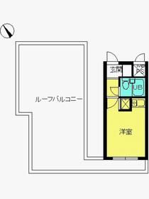 スカイコート横浜弘明寺5階Fの間取り画像
