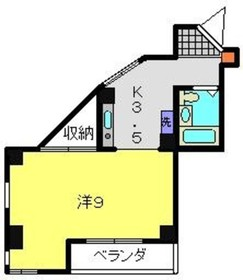 ピアオオタニ2階Fの間取り画像