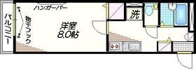 大鳥居駅 徒歩10分2階Fの間取り画像
